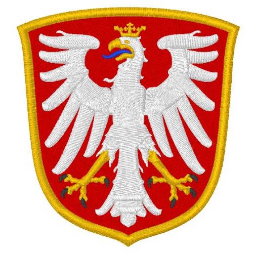 M130 Wappenschild Patch Aufnäher Toppa //Neu// Pantera Rot 7,5 CM