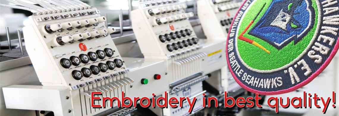 embroidery in best quality