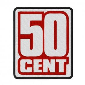 AUFNÄHER PATCH 50 CENT G UNIT 8x10cm