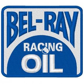 AUFNÄHER PATCH BEL-RAY BEL RAY RACING NASCAR 8x7cm