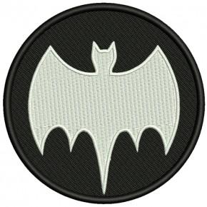 AUFNÄHER PATCH Batman D=10cm