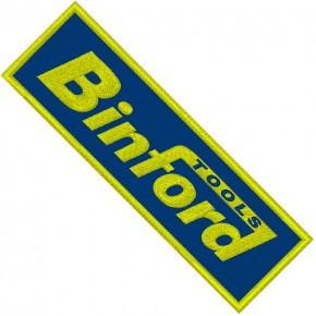 AUFNÄHER PATCH BINFORD 12x4cm
