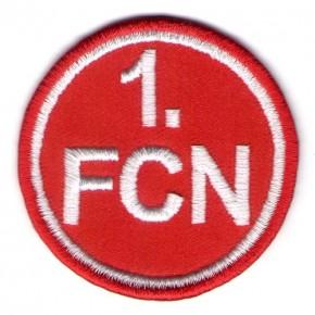 Fußball FUSSBALL AUFNÄHER PATCH 1. FCN NÜRNBERG D=5cm