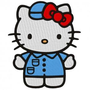 AUFNÄHER PATCH Hello Kitty 13x10cm
