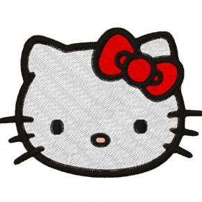 AUFNÄHER PATCH Hello Kitty 7x10cm