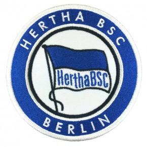 AUFNÄHER PATCH HERTHA BSC Fußball D=10cm
