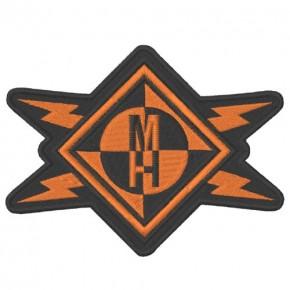 AUFNÄHER PATCH Machine Head 11x8,5cm