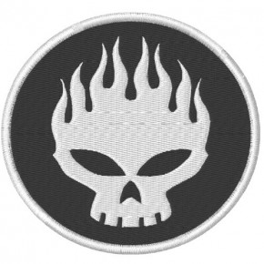 AUFNÄHER PATCH The Offspring D=10cm