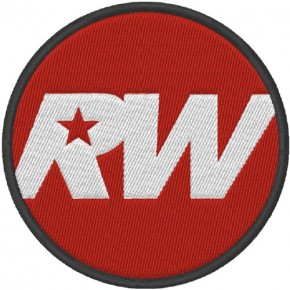 AUFNÄHER PATCH ROBBY WILLIAMS D=8cm