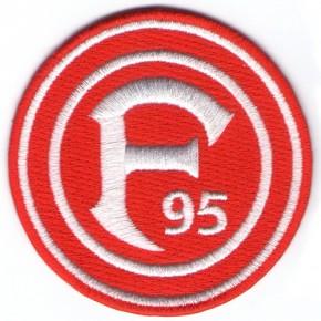 Fußball Fortuna Düsseldorf Aufnäher 100%gest.  Fussball D=8cm
