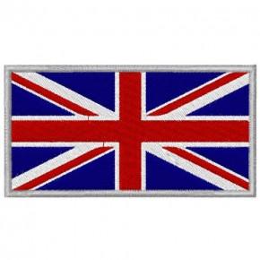 AUFNÄHER FLAGGE GROßBRITANNIEN GREAT BRITAIN 8x4cm