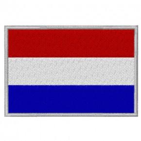AUFNÄHER PATCH FLAGGE NIEDERLANDEN NEDERLANDEN 8x5,5cm