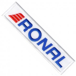 RONAL RALLY RACING PATCH AUFNÄHER APLIKATION 14x3cm