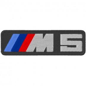 AUTO FAN AUFNÄHER PATCH BMW M5 10x3cm