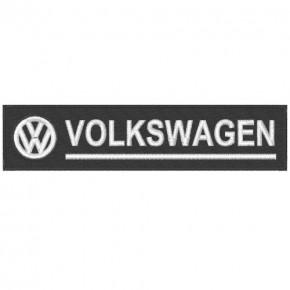 AUTO FAN AUFNÄHER PATCH VW VOLKSWAGEN 14x3,5cm