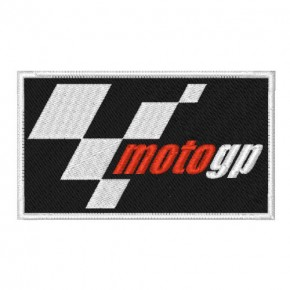 BIKER FAN AUFNÄHER PATCH MOTOGP 8x4,5cm