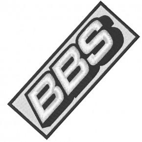 RACING FAN AUFNÄHER PATCH BBS 10x4cm