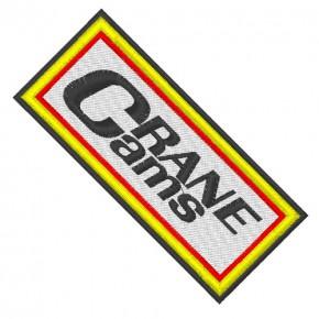 RACING FAN AUFNÄHER PATCH CRANE CAMS 9x4cm
