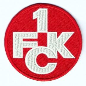 Fußball 1. FC Kaiserslautern Aufnäher Fussball D=8cm