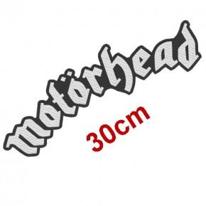 MUSIK FAN AUFNÄHER PATCH MOTÖRHEAD MOTORHEAD 30x9cm