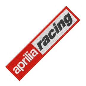 RACING FAN AUFNÄHER PATCH APRILIA 10x2,5cm