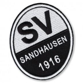 SV Sandhausen AUFNÄHER Fußball FUSSBALL PATCH 6,5x8cm
