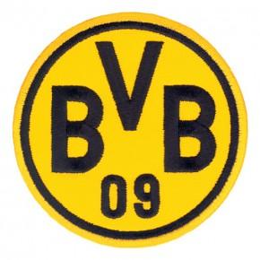Fußball FUSSBALL AUFNÄHER PATCH BORUSSIA DORTMUND BVB D=8cm
