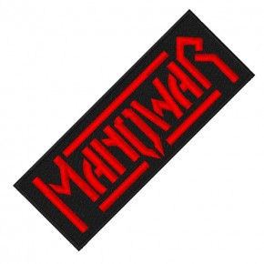 MUSIK FAN AUFNÄHER PATCH MANOWAR 15x6cm
