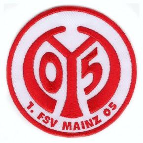 Fußball FUSSBALL AUFNÄHER PATCH 1. FSV MAINZ 05 D=8cm