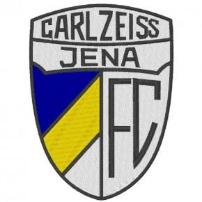 Fußball FUSSBALL FAN AUFNÄHER PATCH FC CARLZEISS JENA 7,5x10cm