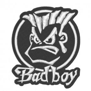 FAN AUFNÄHER PATCH BAD BOY 8x9,5cm
