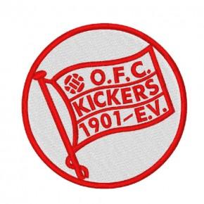 Fußball FUSSBALL AUFNÄHER PATCH OFFENBACHER KICKERS D=8cm