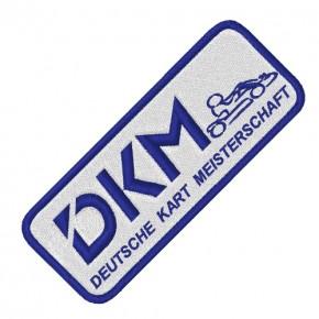DKM KART TUNING RACING AUFNÄHER PATCH 10x4cm