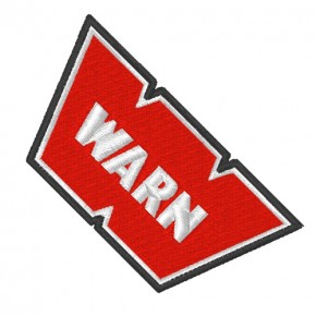 WARN RACING RALLY KART NASCAR PATCH AUFNÄHER 8x4cm