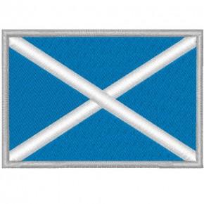 SCHOTTLAND SCOTLAND FAHNE FLAG PATCH AUFNÄHER 8x5,5cm