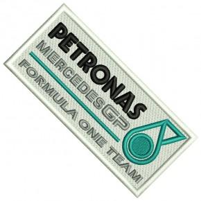 PETRONAS PATCH MERCEDES GP FORMULA ONE 3.94x1.77 inch