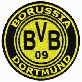 SOCCER PATCH BORUSSIA DORTMUND BVB D=9CM (D=3.54 inch)