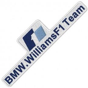 F1 BMW WILLIAMS RALLY RACING PATCH AUFNÄHER 10x3cm