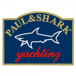 PAUL & SHARK YACHTING AUFNÄHER PATCH 8x6cm