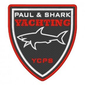 PAUL & SHARK YACHTING WAPPEN AUFNÄHER PATCH 8x6cm
