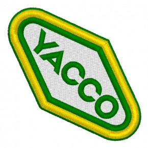 YACCO RALLY RACING AUFNÄHER PATCH APPLICATION 8x5cm