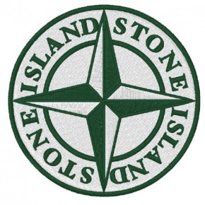 STONE ISLAND AUFNÄHER APPLICATION PATCH D=8cm