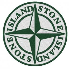 STONE ISLAND AUFNÄHER APPLICATION PATCH D=8cm