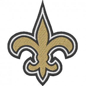 NEW ORLEANS FOOTBALL AUFNÄHER APLIKATION PATCH 5x6,3cm
