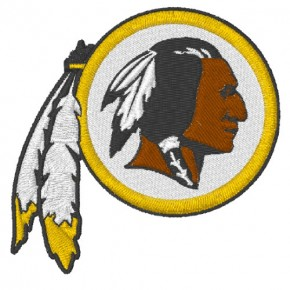 WASHINGTON REDSKINS FOOTBALL AUFNÄHER PATCH 6,4x6,3cm