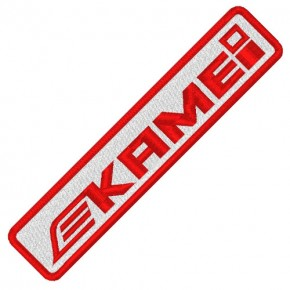 RACING TUNING KART AUFNÄHER PATCH KAMEI 10x2cm