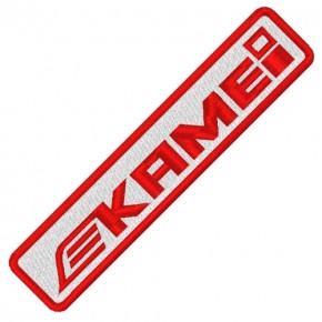 RACING TUNING KART AUFNÄHER PATCH KAMEI 10x2cm