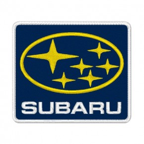 CAR AUTO RACING AUFNÄHER PATCH SUBARU 8x7cm
