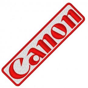CANON RALLY RACING PATCH AUFNÄHER APLIKATION 10x2,6cm