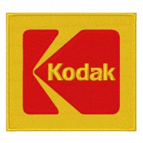 KODAK RALLY RACING PATCH AUFNÄHER APLIKATION 8x7,5cm